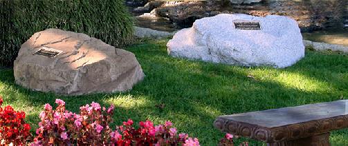 ... Banner Garden Rocks ...