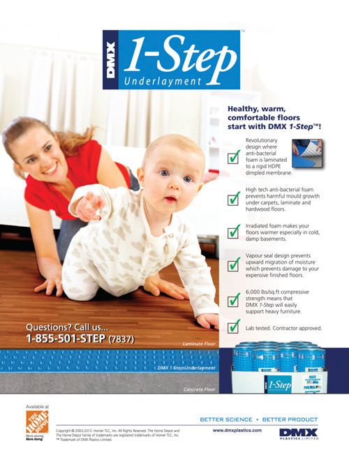 Print Ad for DMX 1-Step