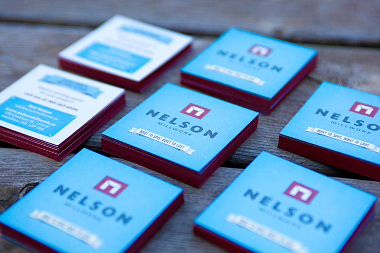 Nelson Millwork Business Cards