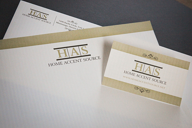 Home Accent Source Corporate Identity