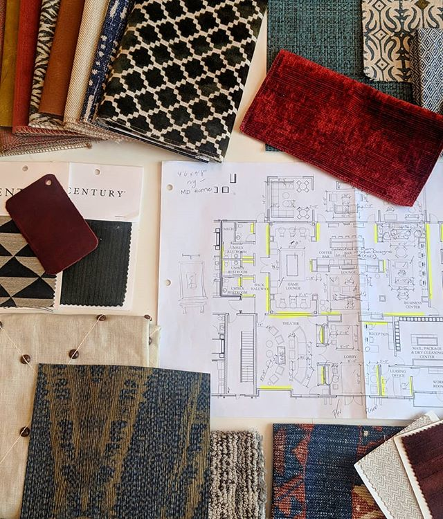 Another day, another new commercial project to design 😍😍😍 . . . . . #crimsondesigngroup #commercialrealestate #commercialdesign #hospitalitydesign #hospitality #interiors #interiordesign #design #behindthescenes #fabrics #interiordesigner #inspiration #instadecor #decorlovers #soho #asseenincolumbus