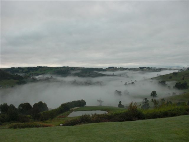 Fog in the valley....