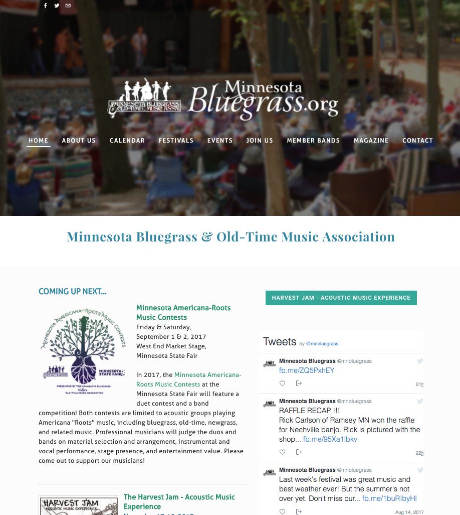 MinnesotaBluegrass.org