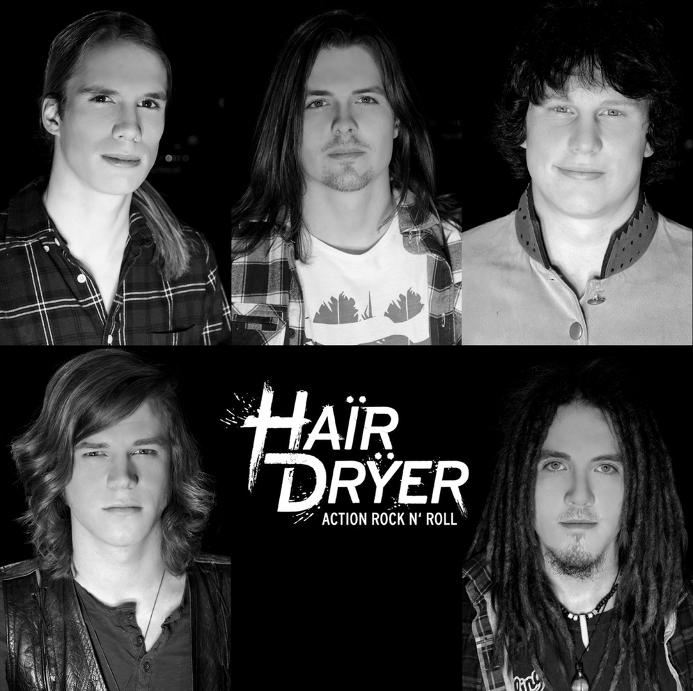 Band Photo Hairdryer