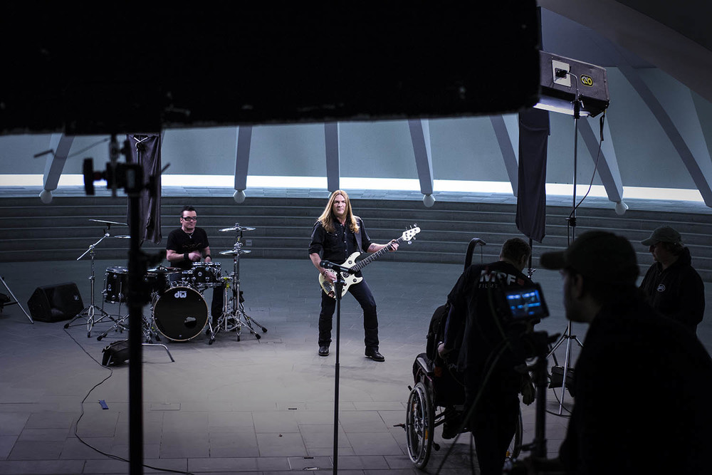 Making of Photo / Musikvideodreh Gotthard