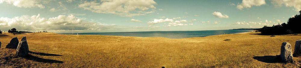 Wunderschöne Panoramalandschaft im Nationalpark Steinshuvud