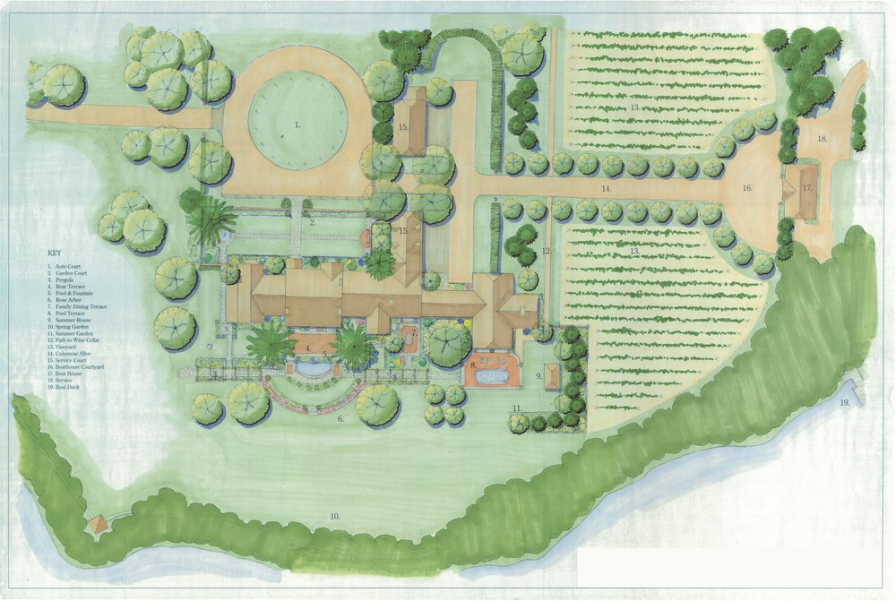 New House, Sewell, NJ  Site Plan by Carter van Dyke Associates