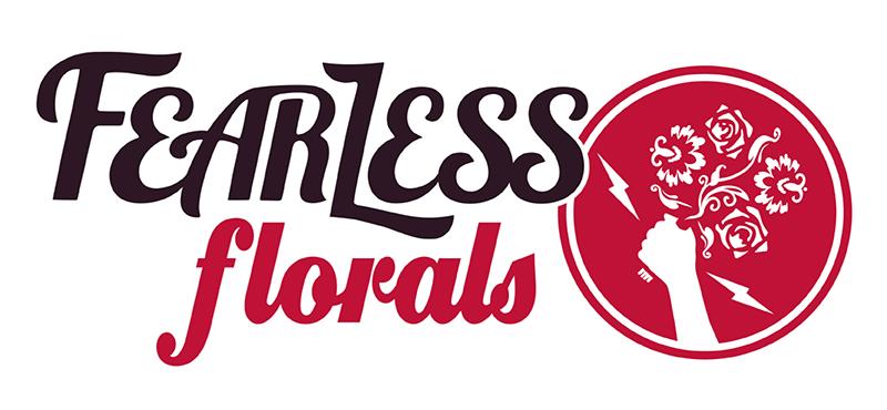 Fearless Florals main logo