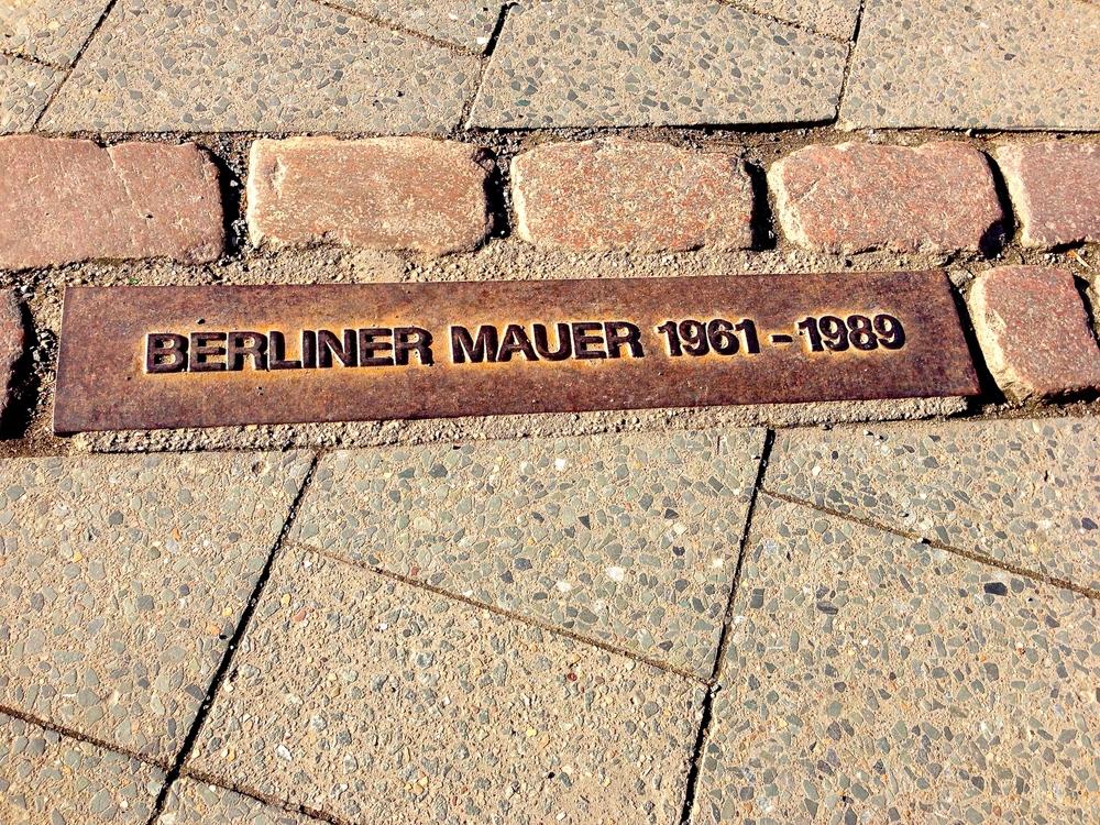 Old Berlin dividing line