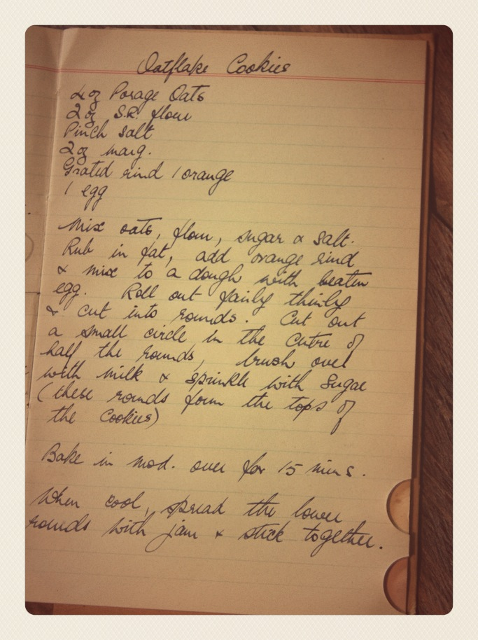 Granny's Recipe Books