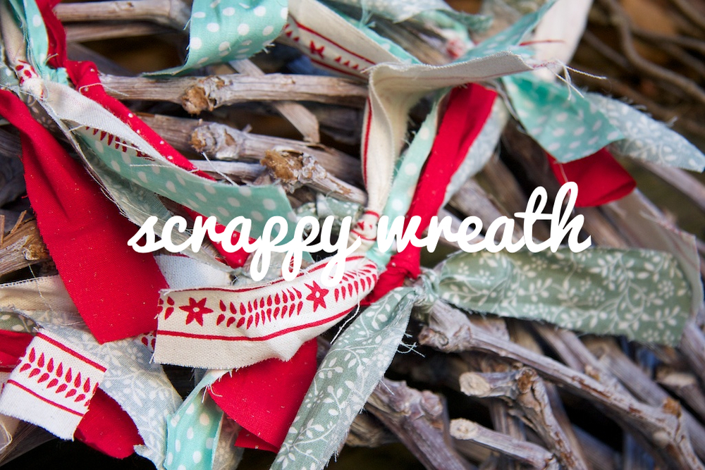 scrappy wreath 2