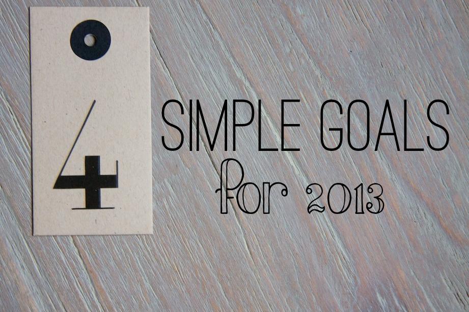 simple goals 7