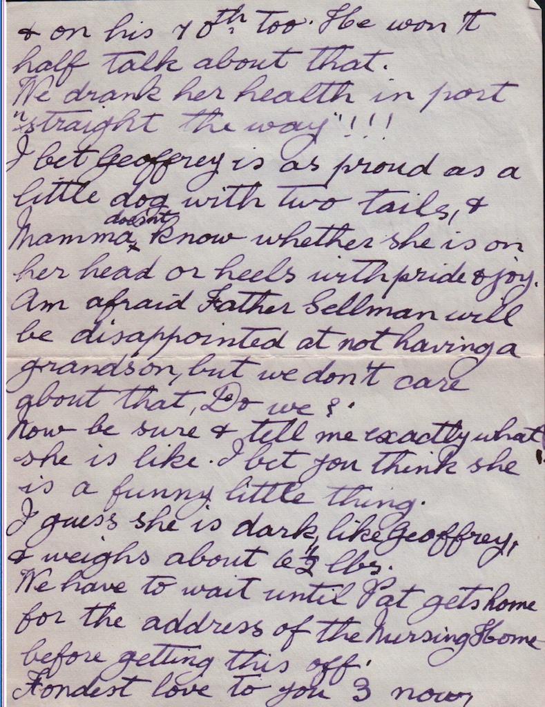 Granny's Letter