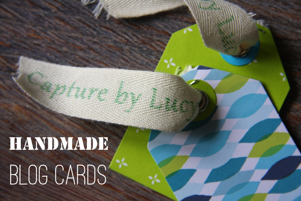 DIY Blog Cards @capturebylucy