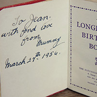 Granny's Birthday Book