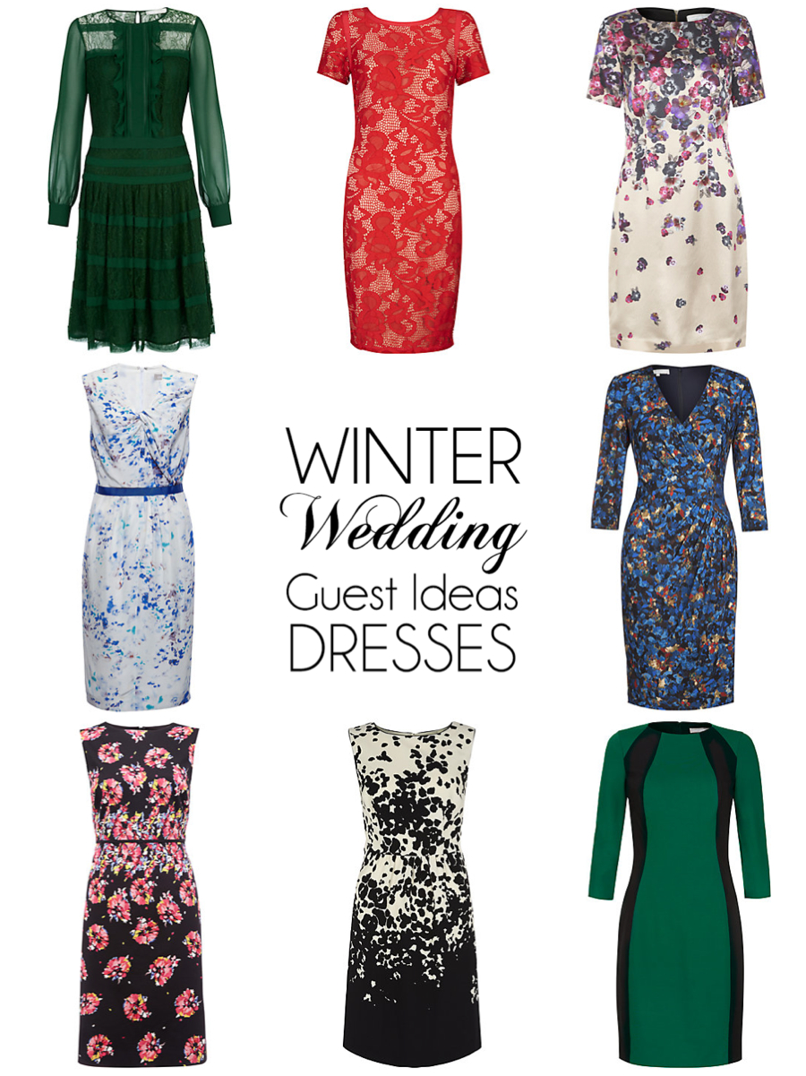 Dresses for wedding guests winter