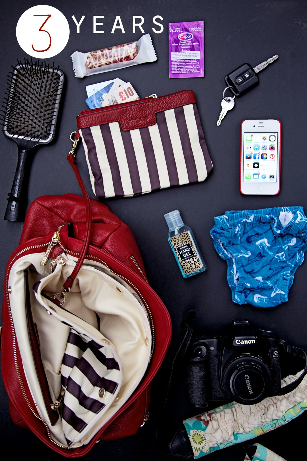 what to put in your changing bag age 3