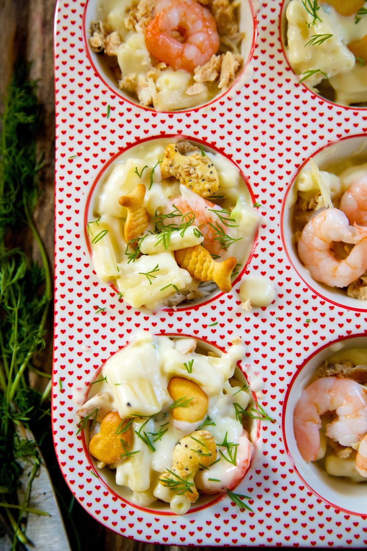Seafood macaroni recipe