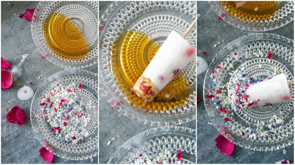 How to make edible petal sprinkles