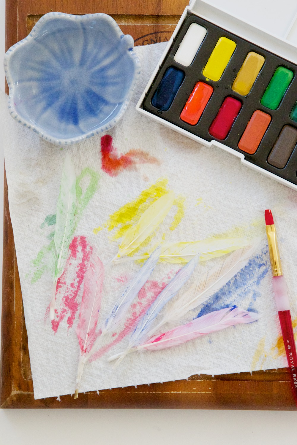 Watercolour craft