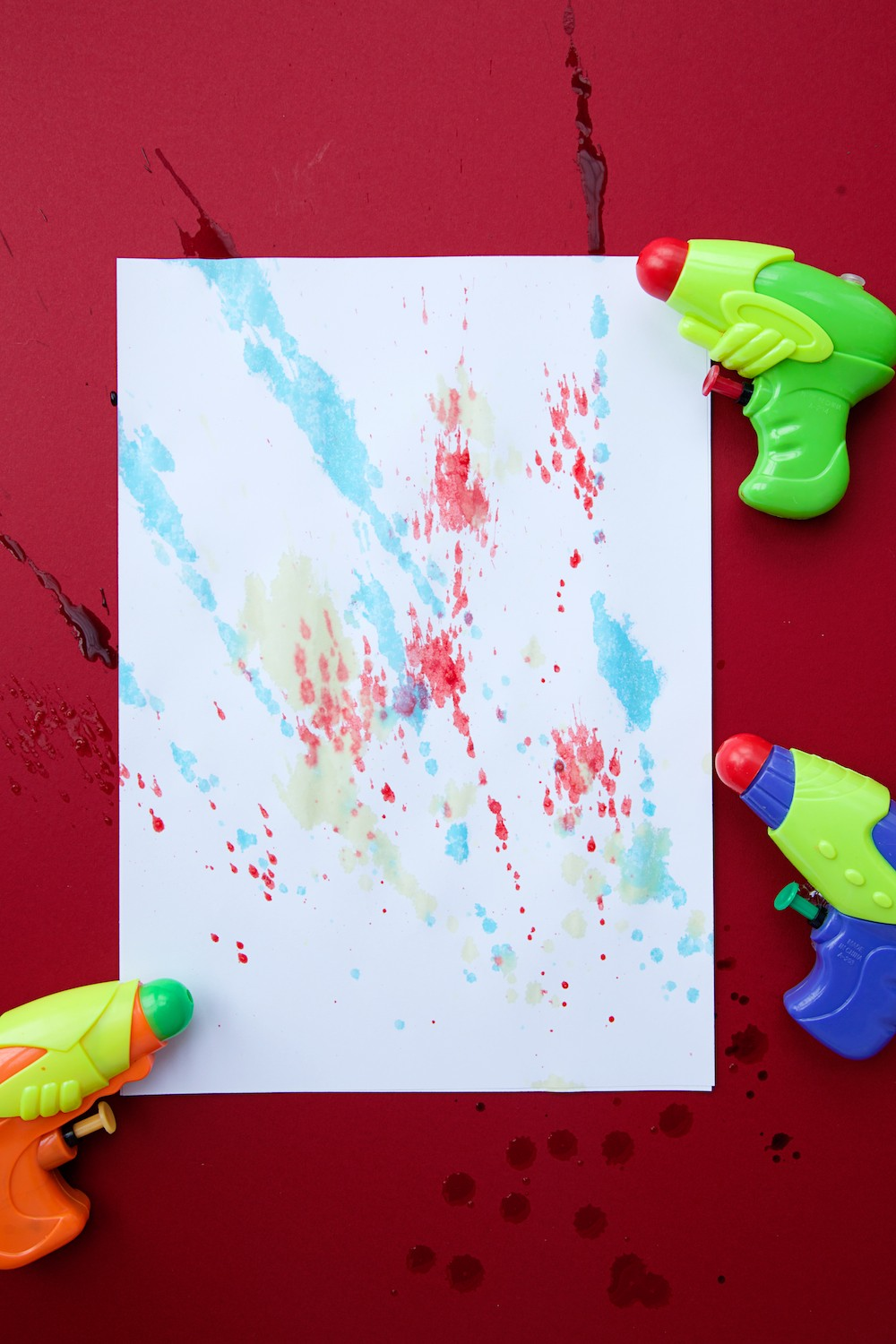 Water Pistol Art