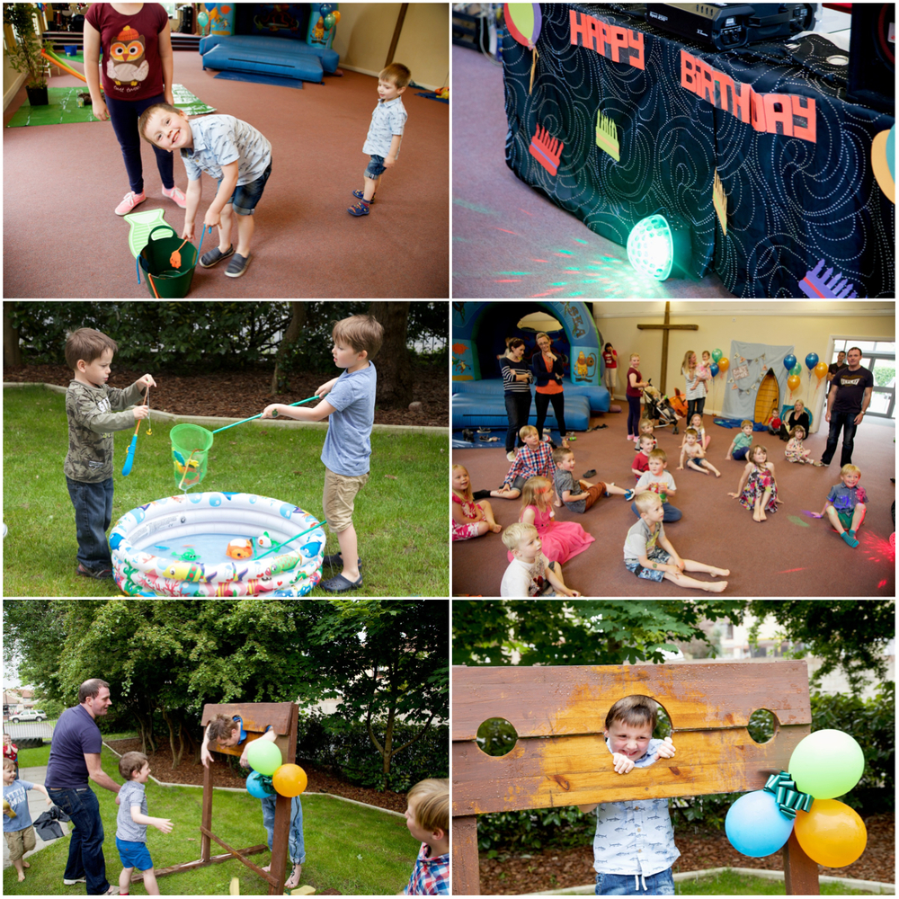 Fishing Party Games