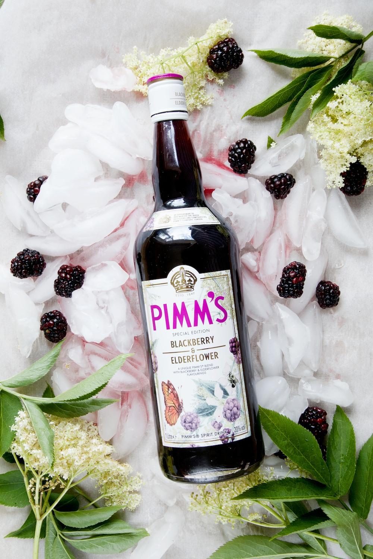Pimms Elderflower and Blackberry