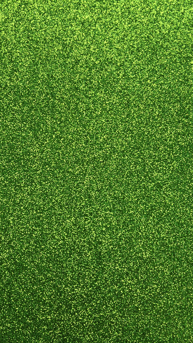 Green Glitter Phone Wallpaper