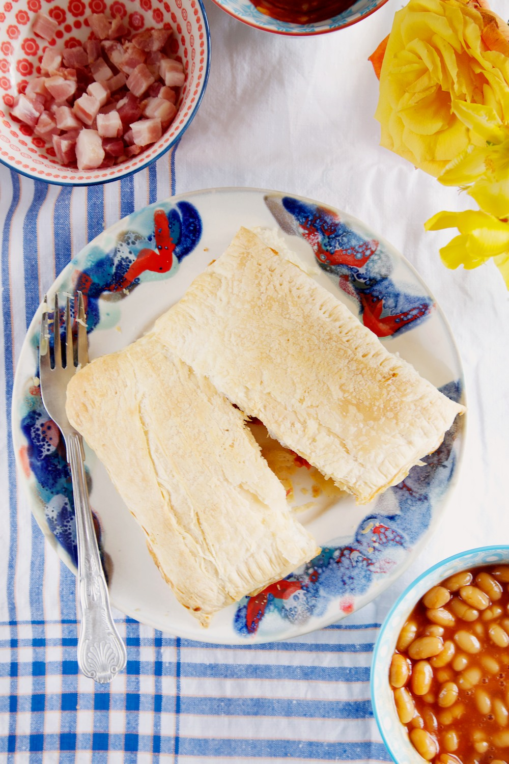 puff pastry parcels