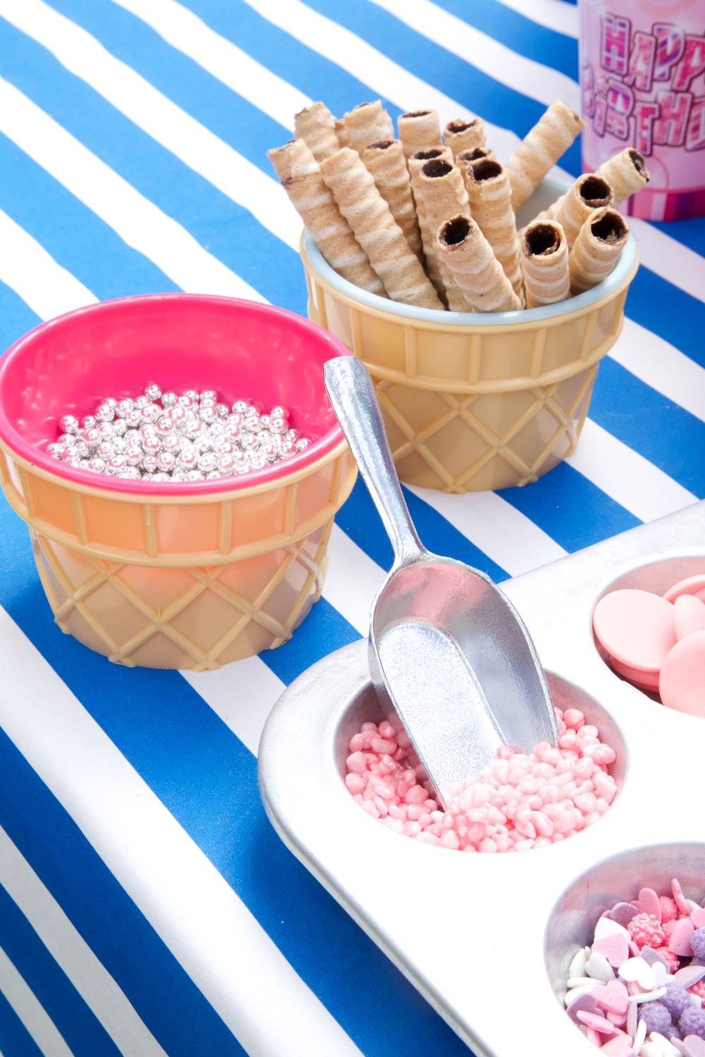 Ice cream stations