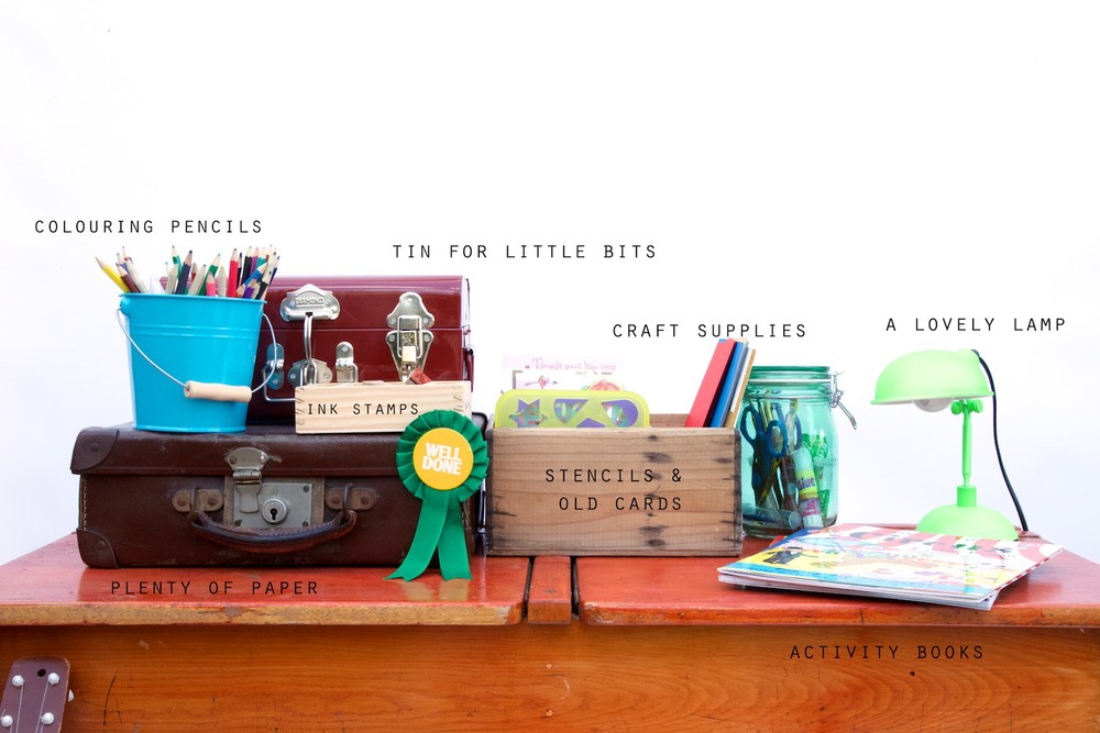 What to put on a child's desk