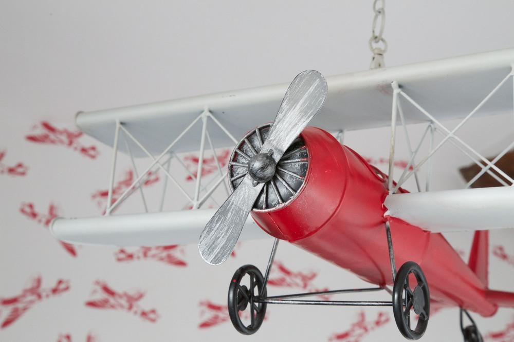 hanging aeroplane