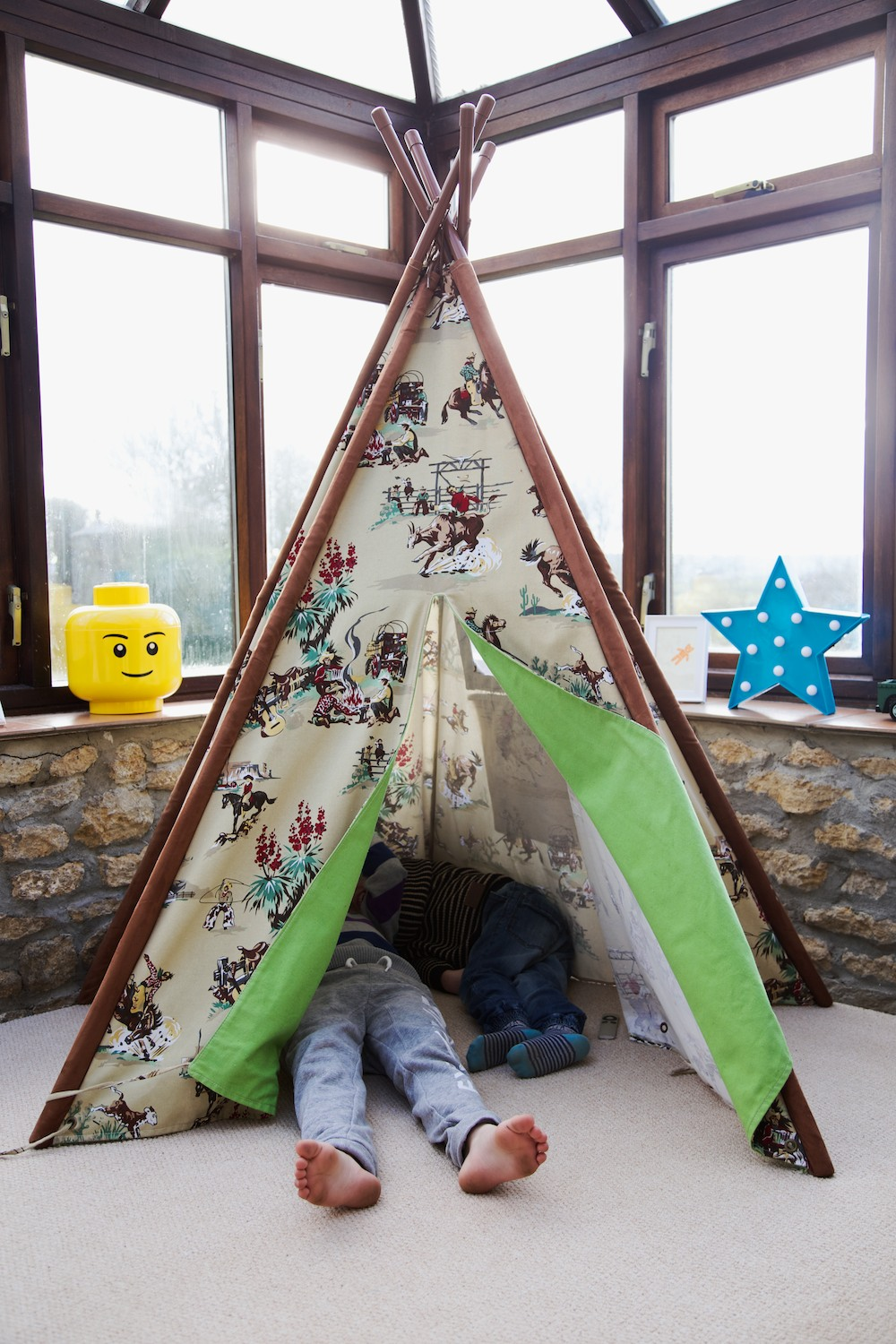 playroom wigwam