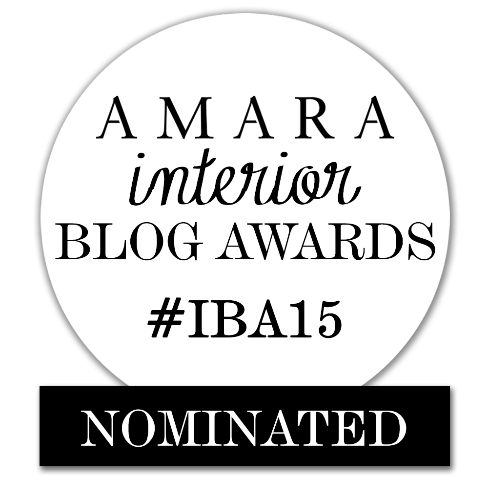 Oh wow thank you! I'd love to be nominated for the Best DIY & Craft Amara Award!