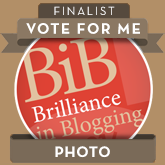 I'd LOVE your vote! Thank you!
