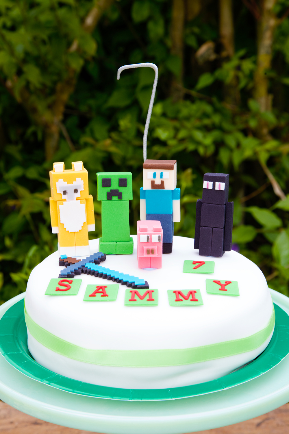 Minecraft Birthday Party O Once I Was 7 Years Old My Mama Told Me Capture By Lucy