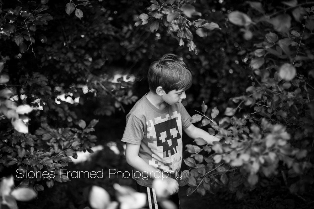 Stories Framed Photography | black and white park portraits | 03