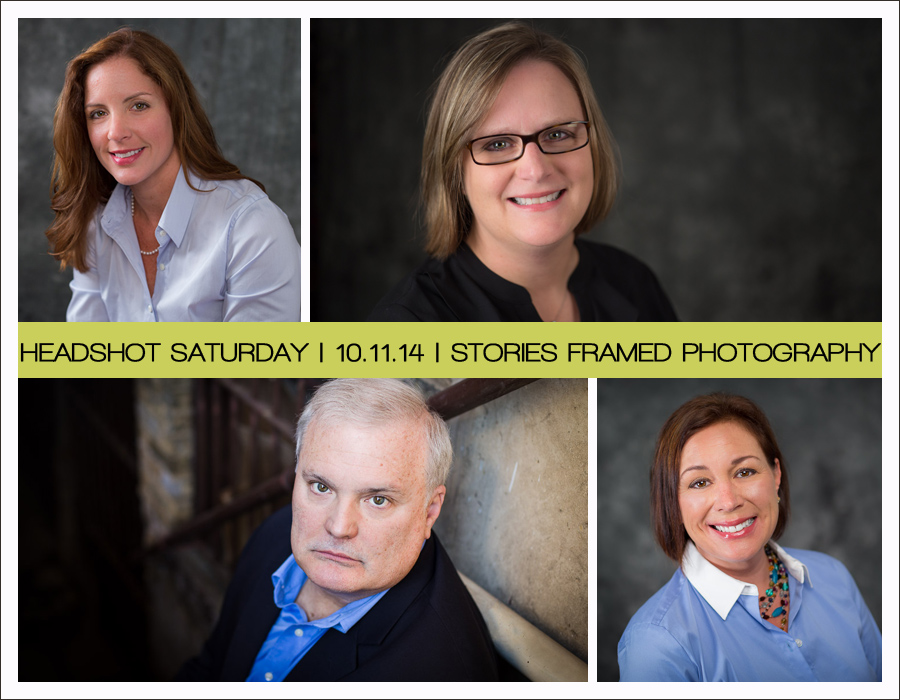 Headshot Saturday | Stories Framed Photography | Business Portraits