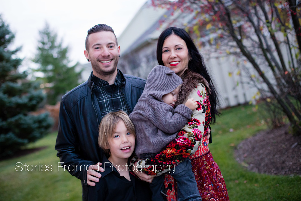 Stories Framed Photography | family of four | family portrait