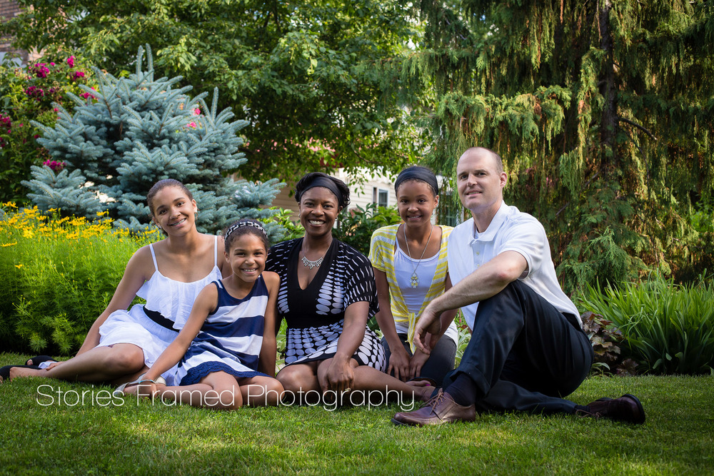 Stories Framed Photography | family of five | family portrait