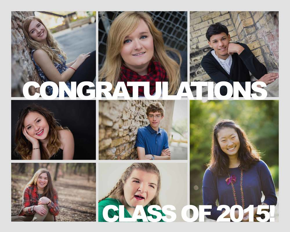 Stories Framed Photography's Class of 2015 - Riley, Kenzie, Isiah, Samantha, Griffin, Elizabeth, Mia and Emyle