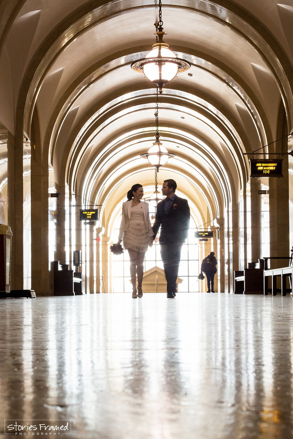 SFP engagement portraits courthouse