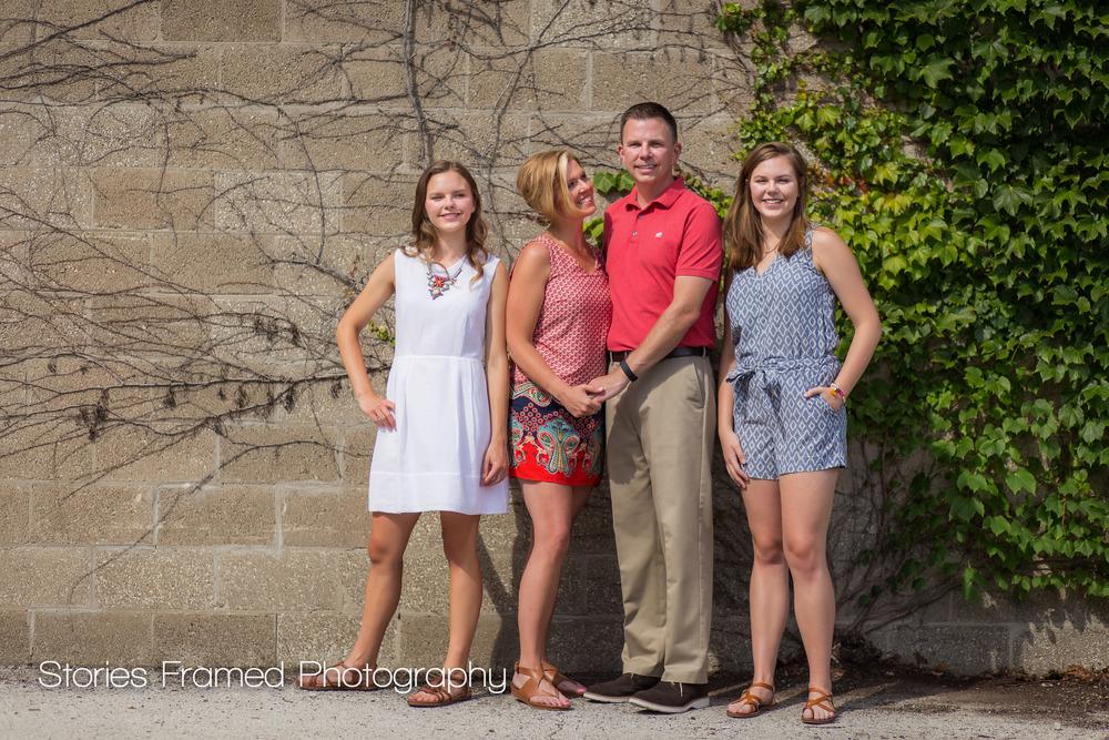 Short Family | Stories Framed Photography | Milwaukee portrait session
