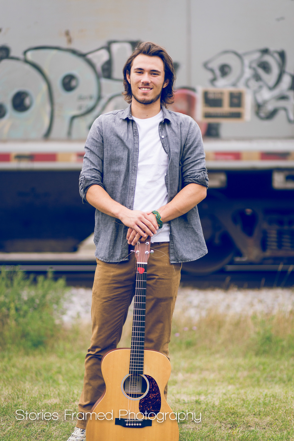 Wauwatosa-Senior-Photography-Tosa-West-Jacob-guitar-train