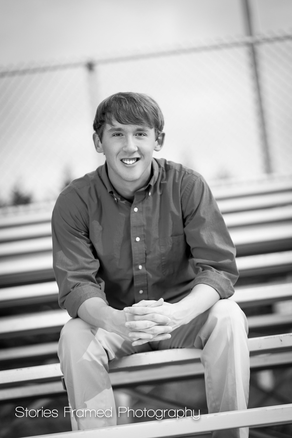 Waukesha-West-Senior-portrait-bleachers