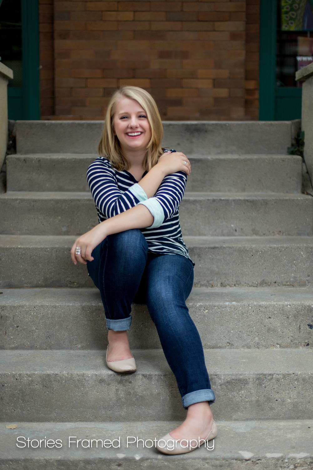 Wauwatosa-East-Senior-Portraits-Third-Ward-class-of-2016-stairs-02