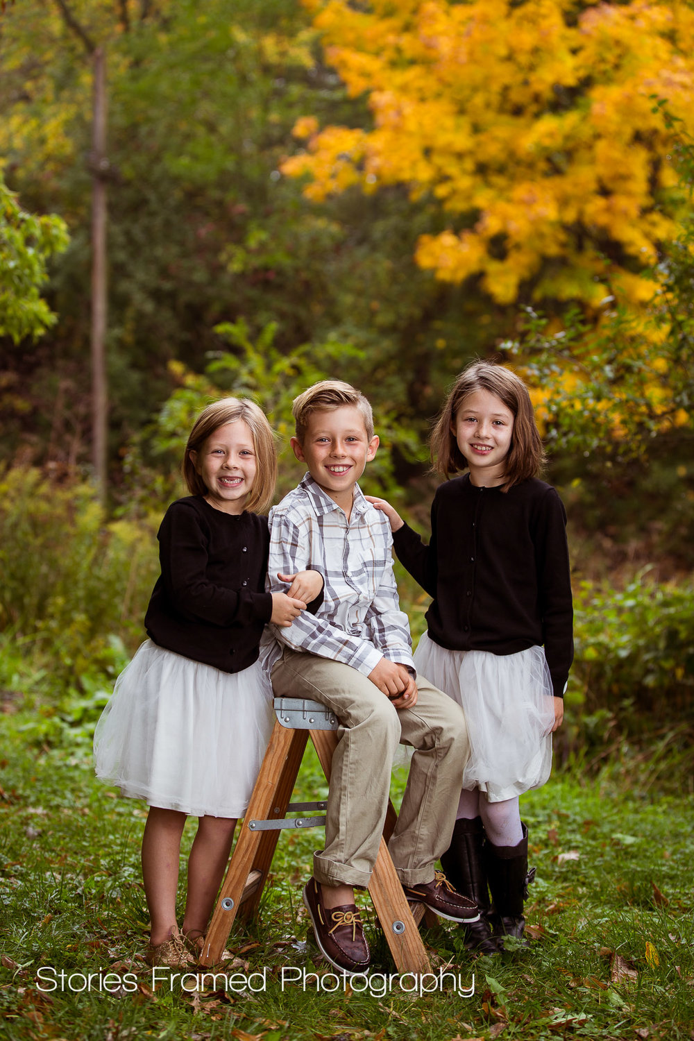 The adorable Kinney kids