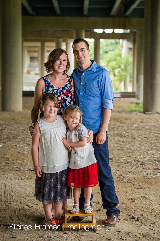 Wauwatosa Family of 4 Portrait
