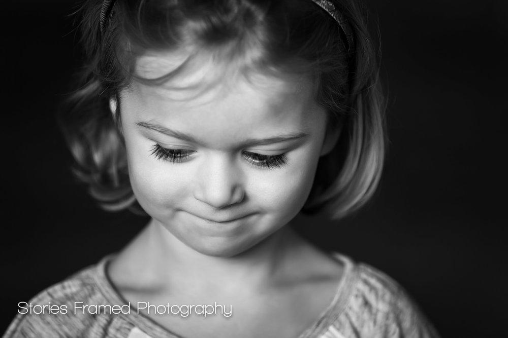 Wauwatosa Child Photography eyelashes