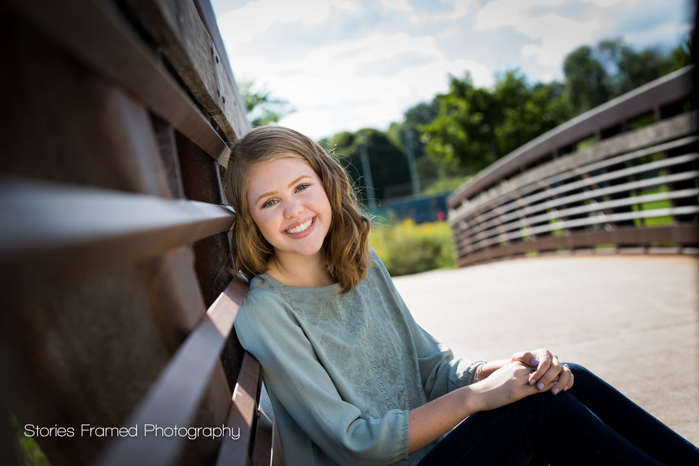 Tosa-East-HS-Emma-on-a-bridge